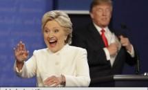 Strategia din spatele vestimentației lui Hillary Cllinton! De ce a ales candidata tocmai acele culori la dezbaterea cu Trump?