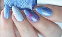 Modele de unghii in culorile anului 2016: Roz-cuarţ şi albastru-seren
