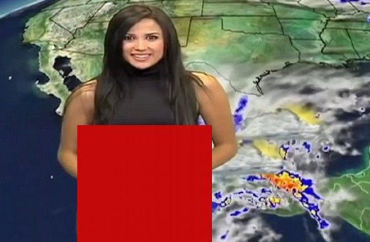 O prezentatoare de la Meteo a devenit celebră după ce a reușit să facă o gafă în timp ce prezenta știrile. A ajuns să fie faimoasă pe internet, însă, odată ce a văzut despre ce era vorba, i-a venit să intre în pământ de rușine! Una dintre cele mai sexy prezentatoare ale rubricii Meteo de la postul Televisa Guadalajara, pe nume Susana Almeida, a avut parte de surpriza vieții sale. Nu avea nici o idee că ținuta pe care o purta în ziua cu pricipa va ajunge să o facă de râs în fața telespectatorilor și nu numai. Avea și de ce! Pantalonii pe care-i purta erau mult prea strâmți, lucru care a scos la vedere mai mult decât trebuia, lumina reflectoarelor contribuind și ele la dezastrul provocat. Odată ce Susana și-a dat seama despre ce anume era vorba, era deja prea târziu, era deja în direct și nu a avut de ales, trebuia să prezinte buletinul meteo chiar și așa. Imaginile cu prezentatoarea au devenit virale pe internet, bucurându-se de o mulțime de distribuiri.