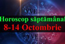 Horoscop săptămânal 8-14 Octombrie 2018