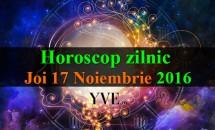 Horoscop zilnic Joi, 17 Noiembrie 2016