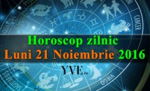 Horoscop zilnic Luni, 21 Noiembrie 2016