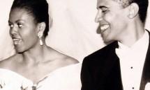 30 de poze romantice cu Michelle si Barack Obama