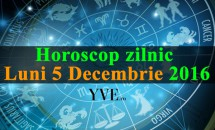 Horoscop zilnic Luni 5, Decembrie 2016