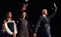 Barack Obama a susținut discursul de adio. De ce a lipsit fiica cea mică de la eveniment