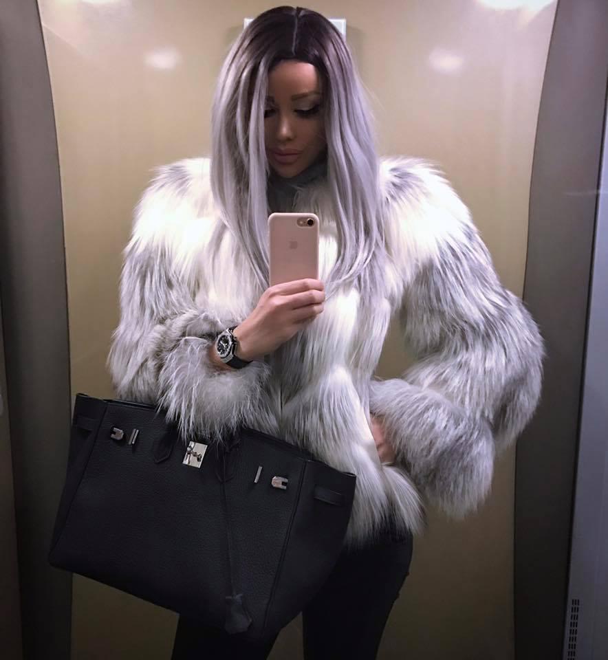 Bianca Drăgușanu ține pasul cu tendințele iarna