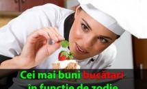 Cei mai buni bucătari în funcție de zodie