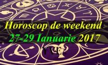 Horoscop de weekend 27-29 Ianuarie 2017