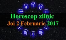 Horoscop zilnic Joi, 2 Februarie 2017
