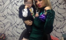 Sânziana Buruiană și-a dus fetița la salon