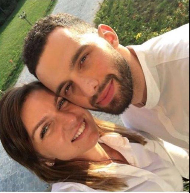Simona Halep nu-și mai ascunde iubitul