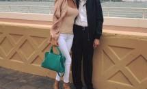 Tatăl Monicăi Gabor pleacă definitiv din România