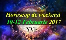 Horoscop de weekend 10-12 Februarie 2017
