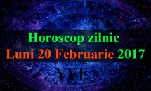Horoscop zilnic Luni, 20 Februarie 2017