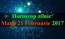 Horoscop zilnic Marți, 21 Februarie 2017