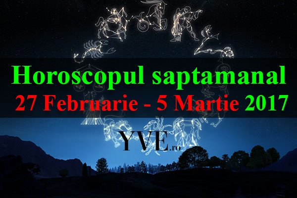 27 Februarie - 5 Martie 2017