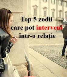 Top 5 zodii care pot interveni într-o relație!