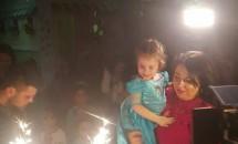 Fiica Oanei Roman împlinește trei ani. Ce i-a urat artista