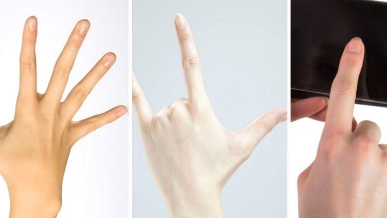 Forma degetului arătător îţi dezvăluie mai multe despre tine