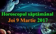 Horoscop zilnic Joi, 9 Martie 2017