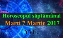 Horoscop zilnic Marți, 7 Martie 2017