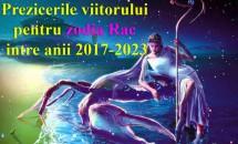 Prezicerile viitorului pentru zodia Rac între anii 2017-2023