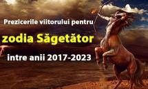 Prezicerile viitorului pentru zodia Săgetător intre anii 2017-2023