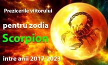 Prezicerile viitorului pentru zodia Scorpion intre anii 2017-2023