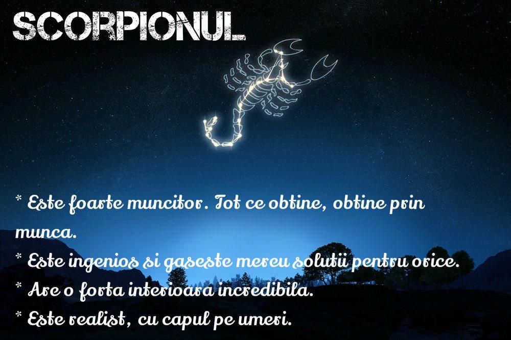 Stai departe de un Scorpion dacă nu ești pregătită!
