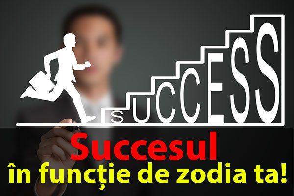 Succesul în funcție de zodia ta!