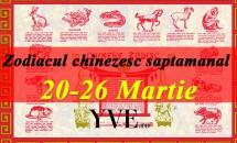 Zodiacul chinezesc saptamanal 20-26 Martie