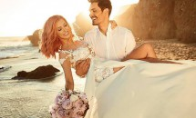 Andreea Bălan s-a căsătorit pe plajă în California. Vedeta a făcut publice primele fotografii