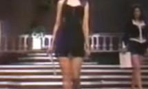 Cum arăta Andreea Marin la 19 ani, când participa la Miss România