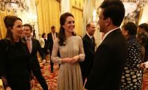 Kate Middleton, apariție impecabilă la Palatul Buckingham
