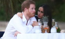 Prințul Harry și iubita lui, surprinși împreună la nunta unui prieten