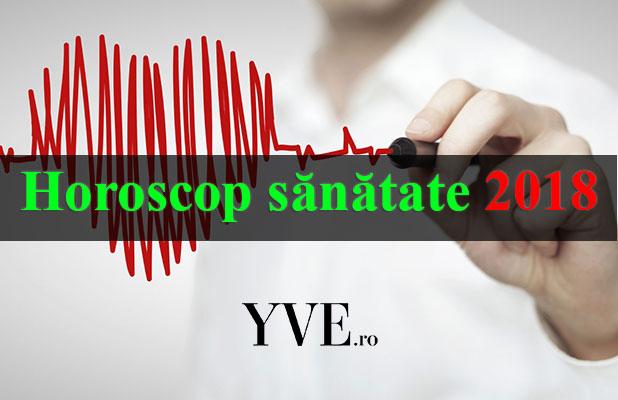 Horoscop sănătate 2018
