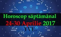 Horoscop săptămânal 24-30 Aprilie 2017