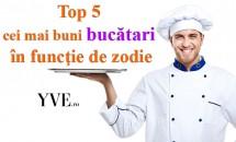 Top 5 cei mai buni bucătari în funcţie de zodie