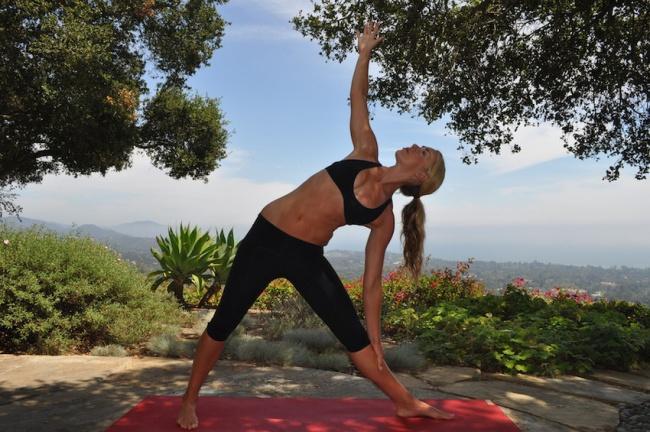 yoga Triunghiul