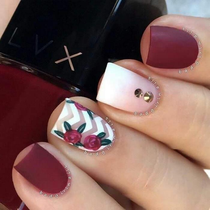 unghii rosii pentru primavara