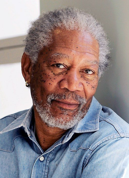 FILE - In this April 25, 2011 file photo, actor Morgan Freeman poses for a portrait in Los Angeles. Freeman will star in a new play by Oscar-winning screenwriter Dustin Lance Black about the legal battle over same-sex marriage in California. It will be performed as part of a fundraiser at the Eugene O'Neill Theatre for one night only on Sept. 19. (AP Photo/Chris Pizzello, file)