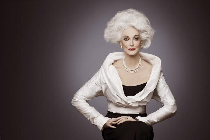 Are 85 de ani şi încă este model. Care este secretul longevităţii lui Carmen Dell'Orefice 1