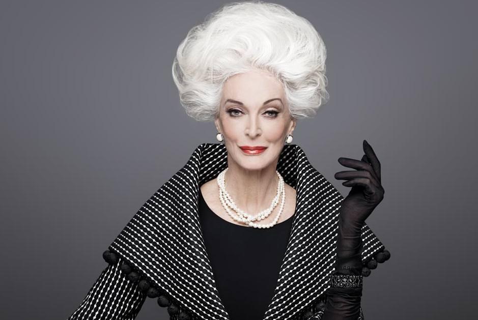 Are 85 de ani şi încă este model. Care este secretul longevităţii lui Carmen Dell'Orefice 3