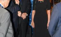 Carmen Iohannis a purtat în SUA creațiile unui designer român