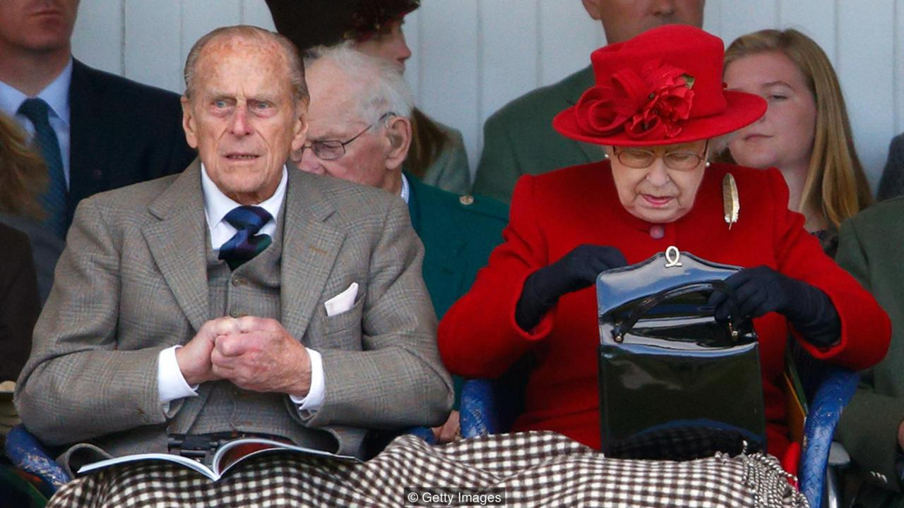 BRAEMAR, UNITED KINGDOM - SEPTEMBER 05: (EMBARGOED FOR PUBLICATION IN UK NEWSPAPERS UNTIL 48 HOURS AFTER CREATE DATE AND TIME) Prince Philip, Duke of Edinburgh and Queen Elizabeth II attend the Braemar Gathering at The Princess Royal and Duke of Fife Memorial Park on September 5, 2015 in Braemar, Scotland. There has been an annual gathering at Braemar, in the heart of the Cairngorms National Park, for over 900 years. The current gathering, in the form of a Highland Games and run by the Braemar Royal Highland Society (BRHS), takes place on the first Saturday in September and sees competitors in Running, Heavy Weights, Solo Piping, Light Field and Solo Dance watched by around 16000 spectators. This year the BRHS commemorate their bi-centenary. Members of the Royal family often attend the event and Her Majesty the Queen is Chieftain of the Braemar Gathering. (Photo by Max Mumby/Indigo/Getty Images)