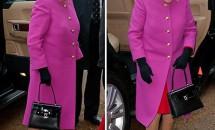 Ce simbol are geanta purtată de Regina Elisabeta doar pe mâna stângă?