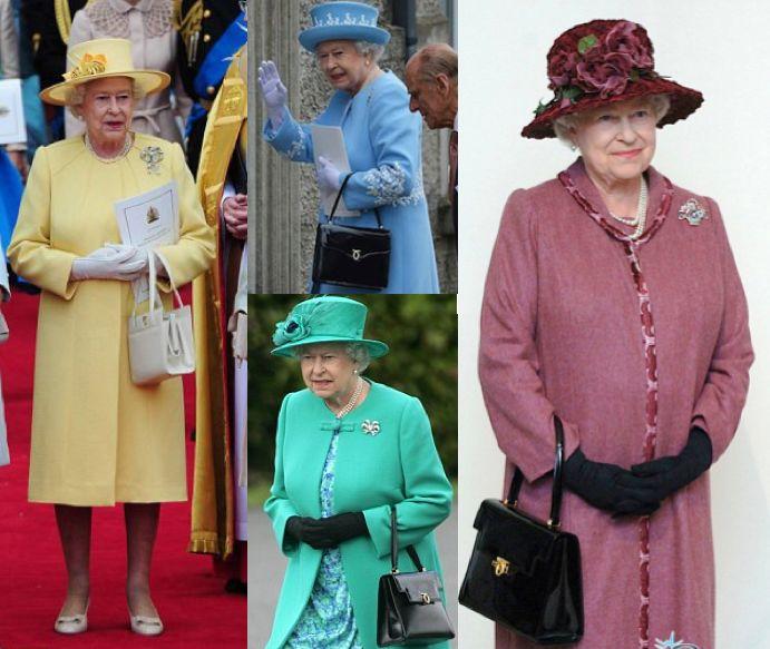 Ce simbol are geanta purtată de Regina Elisabeta doar pe mâna stângă 5