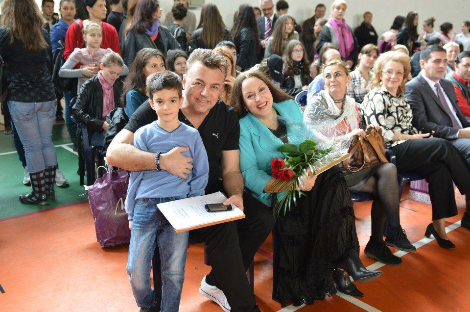 Ce talent ascuns are copilul Iulianei Marciuc şi a lui Adrian Enache 1