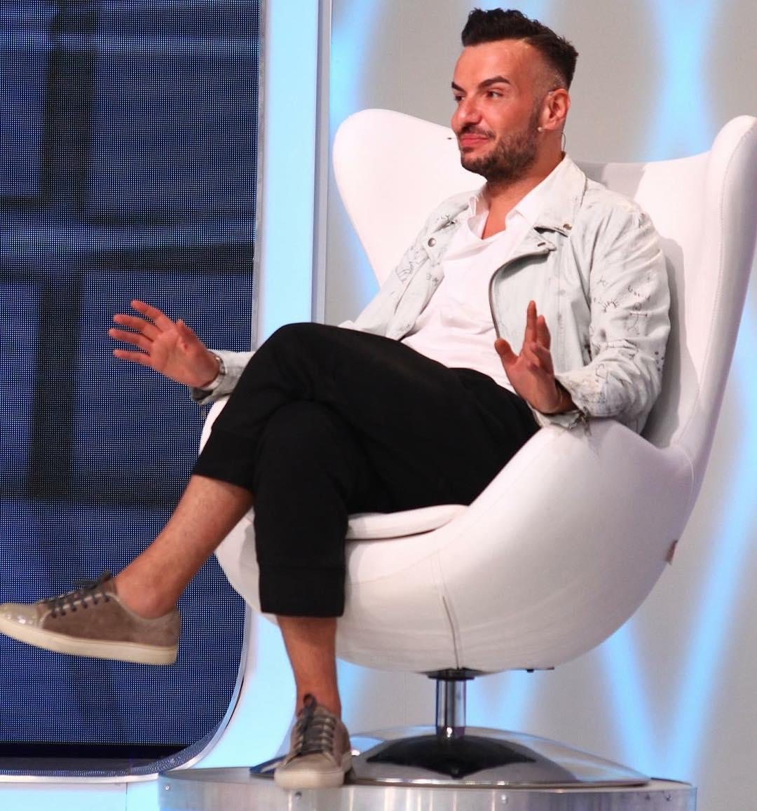 Designerul Răzvan Ciobanu şochează din nou.