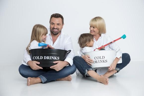 Horia Brenciu, sotia si cei doi copii